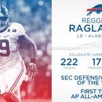 Reggie Ragland is bringing his defensive talents to Buffalo. 👌 https://t.co/Naqit0KvUh