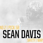 With the 58th pick in the 2016 #NFLDraft, we select S Sean Davis. #SteelersDraft https://t.co/liAHB8xjFd