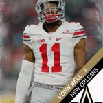 Ohio State S Von Bell is taken 61st overall by the New Orleans Saints. https://t.co/4t0MukvGoj