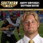 Happy birthday to FB Daythan Davis from Cresson, TX! #SMTTT #family https://t.co/8JPgrm33tq