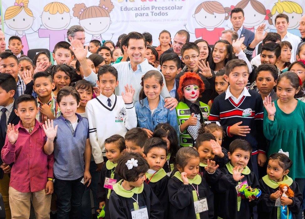 Sin duda, de las noticias que más gusto da anunciar. Felicidades, desde hoy, a todos los niños de México en su día https://t.co/NlsRRyGblO