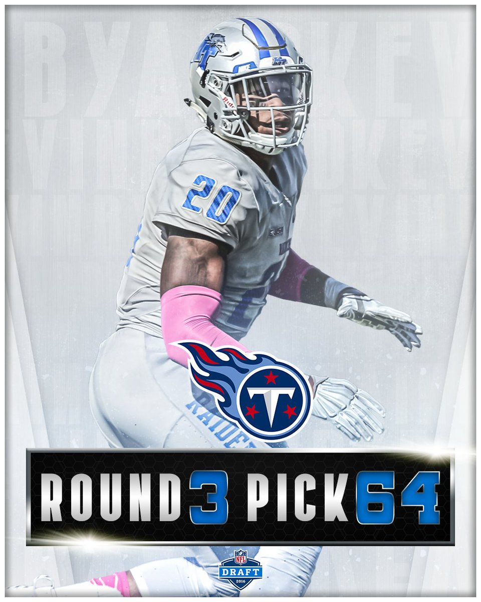 Congratulations to @KB20_Era going to the @Titans with the 64th overall pick! #BlueRaiders https://t.co/HWEOE600oW
