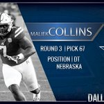 Welcome to Dallas Maliek Collins #CowboysDraft https://t.co/8JQnhursDN