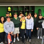 Big names at Ducks games. President Schill at PK Park and the 1976 Oregon Softball team at #TheJane. #GoDucks https://t.co/t9lZ5ALymQ