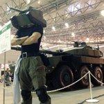 機動戦闘車の前に颯爽と現れた謎の10式戦車マンが格好良すぎる #ニコニコ超会議2016 https://t.co/IMMRk2JUED