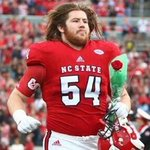 Wearing a Brady jersey, Kevin Faulk has announced that the Patriots have selected NC State OT Joe Thuney. #NFLDraft https://t.co/K4cdB7TSay