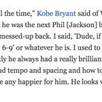 Last November, Kobe Bryant said the following of Luke Walton one day being a head coach: https://t.co/M6hnqQUa35 https://t.co/sh95MvUv0n