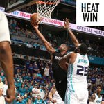 #HEATwin!  Your @MiamiHEAT even the series 3-3 with tonights 97-90 Game 6 victory over the Charlotte Hornets! https://t.co/OjUmjObmtV