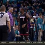 Dwyane Wade got mad. This guy might have had something to do with it. https://t.co/fHuDNcB2LL