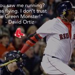.@davidortiz when asked if he thought the ball was gone: #RedSox https://t.co/zFEV6oLfdz