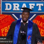 """""""If I wasnt here today, Id be at my graduation ceremony at @UF."""" - @Carlos_Dunlap  Congrats on graduating Carlos! https://t.co/tg8P09oZDQ"""