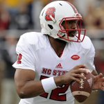NC State QB Jacoby Brissett is joining teammate Joe Thuney in New England. The Pats picked Brissett No. 91 overall. https://t.co/VVklEwy5Us