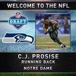 Welcome to Seattle, C.J. Prosise! #Seahawks draft RB from Notre Dame #NFLDraft #k5sports https://t.co/HUiFaWdo13