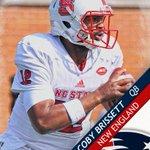 The Patriots select QB Jacoby Brissett 91st overall. https://t.co/VJ6xam9CAB