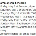 Heres the full schedule for the #WHL final: https://t.co/b3fSoXZ4Lb