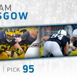 The #Lions have drafted @umichfootball center Graham Glasgow w/the 95th overall pick. #LionsDraft #ProBlue https://t.co/OUYDcjNegX