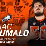 Fired up for Isaac! Phillys getting Dam good player but an even better leader and young man. #NFLBeavs https://t.co/0nkyscf68H