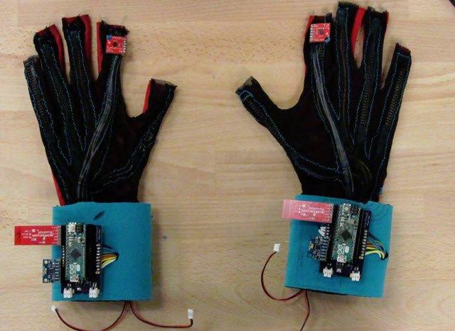 Researchers develop gloves that translate sign language https://t.co/EkJCDmAG84 https://t.co/psE4nVnvYD (via @science)