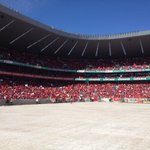 About 2/3 of Orlando Stadium filled up so far. More shade here than previous two weekends. #EFFManifesto https://t.co/jTf51JT9D9