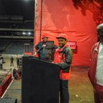 Last night we did inspection of Orlando Stadium for the #EFFManifestoLaunch & alls in perfect condition. Lets Go! https://t.co/lOytCsgOkG