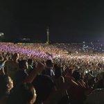 19 mil personas en el parque de la leyenda Vallenata, toda una rumba!!! @FESVALLENATO. https://t.co/t1yRQplSPF