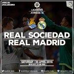Tonight! Another final match in La Liga. Real Sociedad vs Real Madrid, live on Ch. Festival. ⚽🕘  #RMLiga #HalaMadrid https://t.co/gd8YMmQ7LK