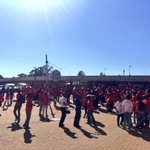 #EFFManifestoLaunch Some supporters have been on busses since 3 am this morning. They are here in full voice. EC https://t.co/O8O1XhMCRH