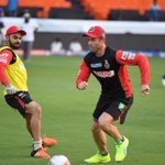 Its not every day u get to run around @imVkohli #proud moment in my Football career. Haha https://t.co/zAVeAnxTSt