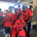#EFFManifestoLaunch Supporters as young as 3 are out to hear Malema speak. One 11 year old says she loves him. EC https://t.co/7n2m9avtpX