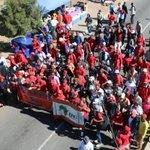 RT @nzimandebafana: EFF supporters making their way to Orlando Stadium for the #EFFManifesto #eNCA https://t.co/SMKX7qNXVY