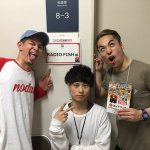 中田さんと藤森さん、Show-heyアニキは先に出て行ってしまわれた(´・_・`) お疲れ様でした!! #radiofish #ニコニコ超会議2016 #超音楽祭2016 https://t.co/UXNHDds14c