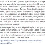 Felipe Melo fazendo textão para o CRAQUE Neto 👊 https://t.co/8sWIg8tV35