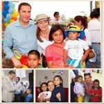 Mi esposa @MarthaErikaA y yo, felicitamos a las niñas y niños de #Puebla en su día. #FelizDíadelNiño https://t.co/fPFDQB1Fcw