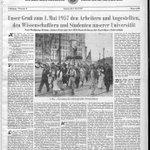 #GDR #DDR Zum Ersten Mai im Sozialismus Karl-Marx-Universität #Leipzig 1950, 1957 #unileipzig @uniarchiv #ersterMai https://t.co/mVrlVj8D40