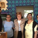 Great to have @NicolaSturgeon in today for some proper Panjabi food #glasgowfood #glasgowsouth https://t.co/0IKXJ26Ieb