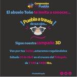 ¡Hoy! En este punto regalaremos lentes para ver a Puebla en 3D. #PlanParaPuebla #PueblaMiOrgullo https://t.co/EVZ5JOwiQn