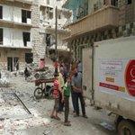 """""""#قطر_الخيرية"""" أول جمعية قطرية تصل لداخل #حلب https://t.co/7hEkL7op3e #حلب_تحترق #أغيثوا_حلب https://t.co/yEUqrtzrdU"""