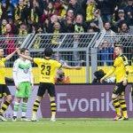 Die 7. Minute in Dortmund. // Dortmund, after six minutes today! #bvbwob 2-0 https://t.co/4E3rWlTSvg