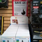 Want to cast your from your phone to your TV? Chromecast on offer at Maplin until 2nd May #barnsleyisbrill https://t.co/X7wTmDZ1O7