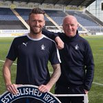 Falkirk manager, Peter Houston congratulates @LeeMillerScotia on his new deal! #COYB https://t.co/YJ5IJJfYvO