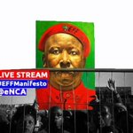 WATCH IT LIVE: The #EFFmanifesto launch ahead of the #2016LocalElections >> https://t.co/3sO8lzj7I4 https://t.co/OqMsqKWZJj