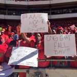 #EFFManifesto Many have written their own messages on the placards handed out earlier. EC https://t.co/zVgthseBFZ