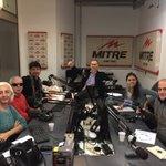 En @radiomitre haciendo #SábadoTempranísimo con @Danielmollo @doctoreduardoa @MiriMolero @lopez_nati y Gallo Candolo https://t.co/f4pwRs5pKC