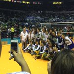 """@RapplerSports: Ateneo is awarded 1st runner up while the lady Eagles crowd chant ""MVP"" for Alyssa https://t.co/8tJhz8cGTs"""