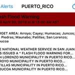 Atención!!! AVISO de inundaciones para 9 pueblos de PR. Aquí los detalles. https://t.co/EJlGo5YGsc