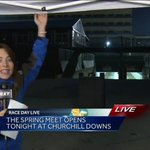 Runners, we have a tent. Its going to rain. Enough said. Come do a quick interview! @WLKY https://t.co/rd9D41svuD