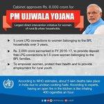 #PMUjjwalaYojna पहले एक योजना फिर एक अनुरोध फिर स्वेछित जन साधारण मिशन और अब परिणाम???? https://t.co/f9llSu7zCq