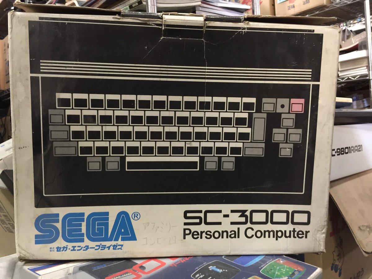 BEEPさんの倉庫で見かけたSC-3000の箱。一見美品だけど、よく見たら持ち主の怨念がこもっていた。 https://t.co/MMBLrZYUaj
