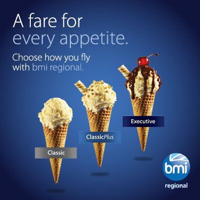 Choose how you fly to Bristol, Norwich, Esbjerg & Oslo with bmi regional's new fare families