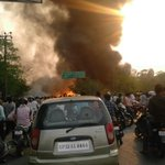 Big ???? fire at dalibagh Lucknow @NBTLucknow https://t.co/HLfe0EWdOf
